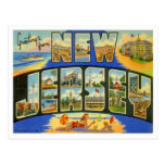Saludos de New Jersey Tarjeta Postal