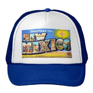 Saludos de New México Gorras