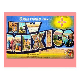 Saludos de New México Postales