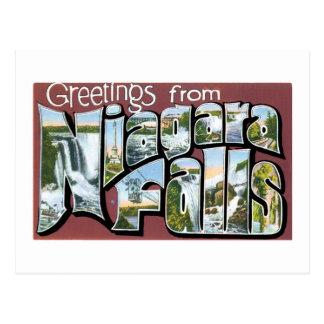 ¡Saludos de Niagara Falls! Tarjeta Postal