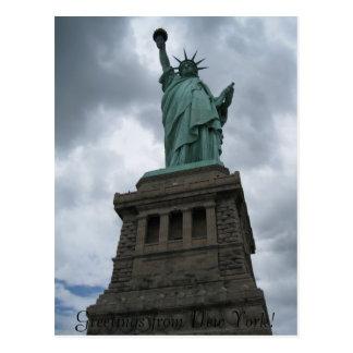 ¡Saludos de Nueva York! Tarjetas Postales