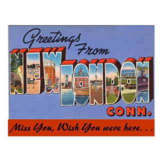Saludos de nuevo Londres Tarjeta Postal