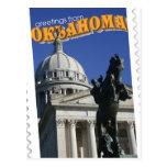 Saludos de Oklahoma Postal