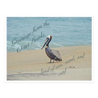 Saludos de Outer Banks OBX NC Postal