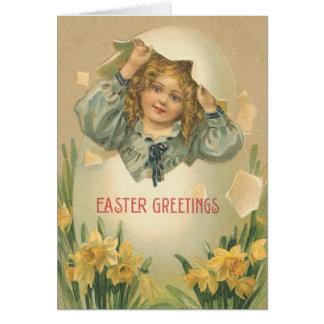 Saludos de Pascua - tarjeta