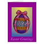 Saludos de Pascua Tarjeton