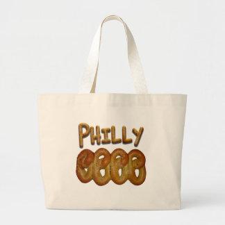 Saludos de Philly Bolsa Tela Grande