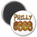 Saludos de Philly Imanes De Nevera