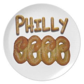 ¡Saludos de Philly! Platos