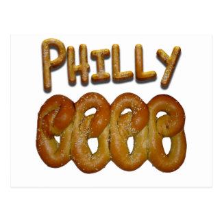 Saludos de Philly Tarjeta Postal