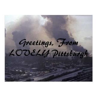 Saludos, de Pittsburgh PRECIOSA Postales