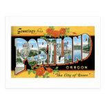 ¡Saludos de Portland, Oregon! Postal