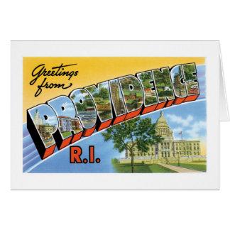 ¡Saludos de Providence, Rhode Island!