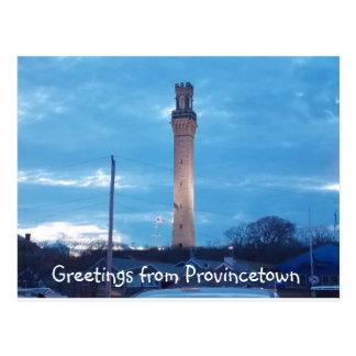 Saludos de Provincetown 2 Tarjeta Postal