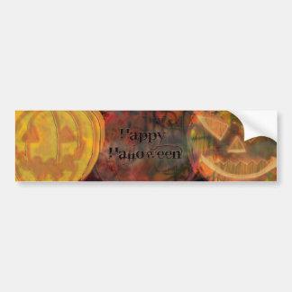 Saludos de Pumpkiny Halloween Pegatina Para Auto