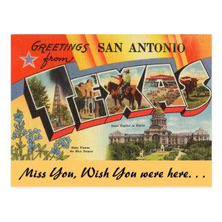 Saludos de San Antonio Postal