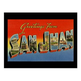 Saludos de San Juan Postal