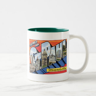 Saludos de San Pablo Minnesota Taza De Café
