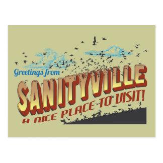 Saludos de Sanityville - Niza un lugar a visitar Postales