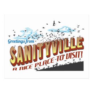 Saludos de Sanityville - Niza un lugar a visitar