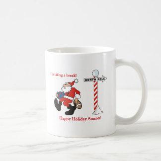 Saludos de Santa Tazas De Café