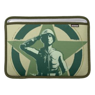 Saludos de Sarge del ejército Funda Macbook Air