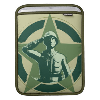 Saludos de Sarge del ejército Manga De iPad