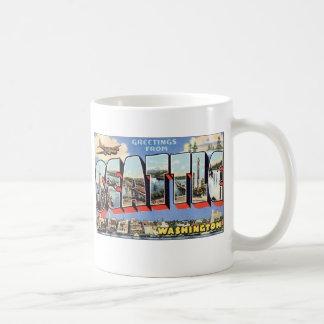Saludos de Seattle, WA Taza De Café