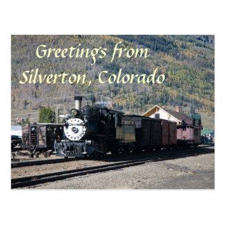 Saludos de Silverton, Colorado Tarjetas Postales