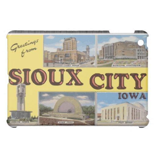 Saludos de Sioux City Iowa, vintage