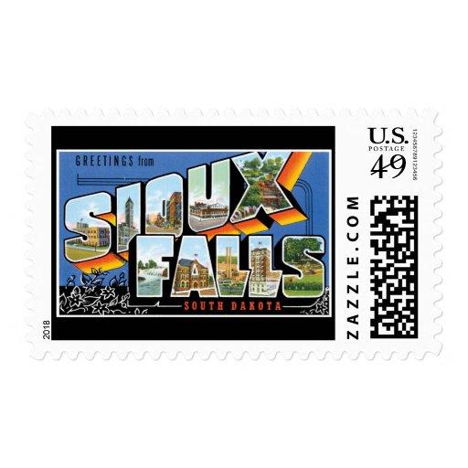 Saludos de Sioux Falls Dakota del Sur