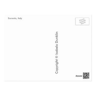 Saludos de Sorrento, Italia Postal