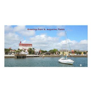 Saludos de St Augustine, la Florida Tarjeta Personal