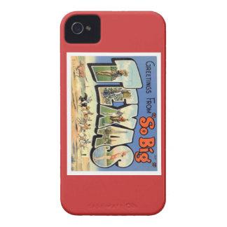 Saludos de Tejas iPhone 4 Case-Mate Carcasa