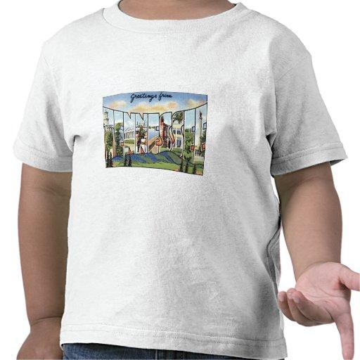 Saludos de Tennessee Camiseta