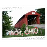 Saludos de Troy, Ohio Postal