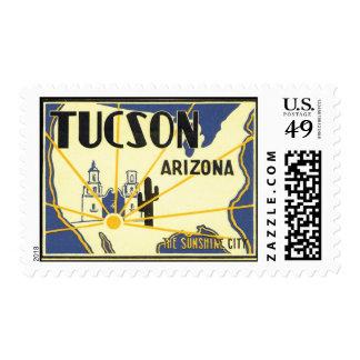 Saludos de Tucson Arizona Franqueo