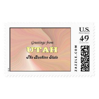 Saludos de Utah Sellos
