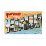Saludos de Virginia Tarjetas Postales