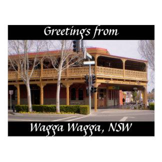 Saludos de Wagga Wagga, NSW Postal