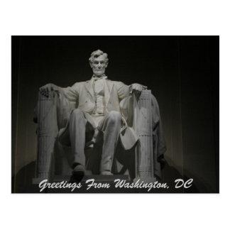 Saludos de Washington, DC Tarjetas Postales