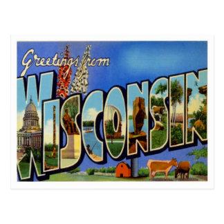 Saludos de WI los E.E.U.U. de Wisconsin Postal