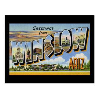Saludos de Winslow Arizona Postales