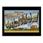 Saludos de Winslow Arizona Tarjetas Postales