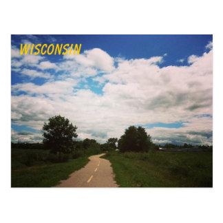 ¡Saludos de Wisconsin! Tarjeta Postal
