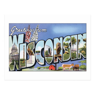 Saludos de Wisconsin Postal