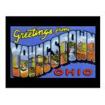 Saludos de Youngstown Ohio Postal