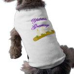 Saludos de Yuletide Camiseta De Mascota