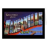 Saludos de Zanesville Ohio Tarjetas