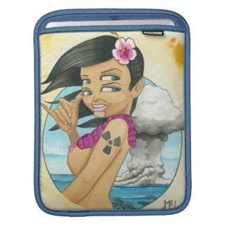 Saludos del atolón de bikini manga de iPad